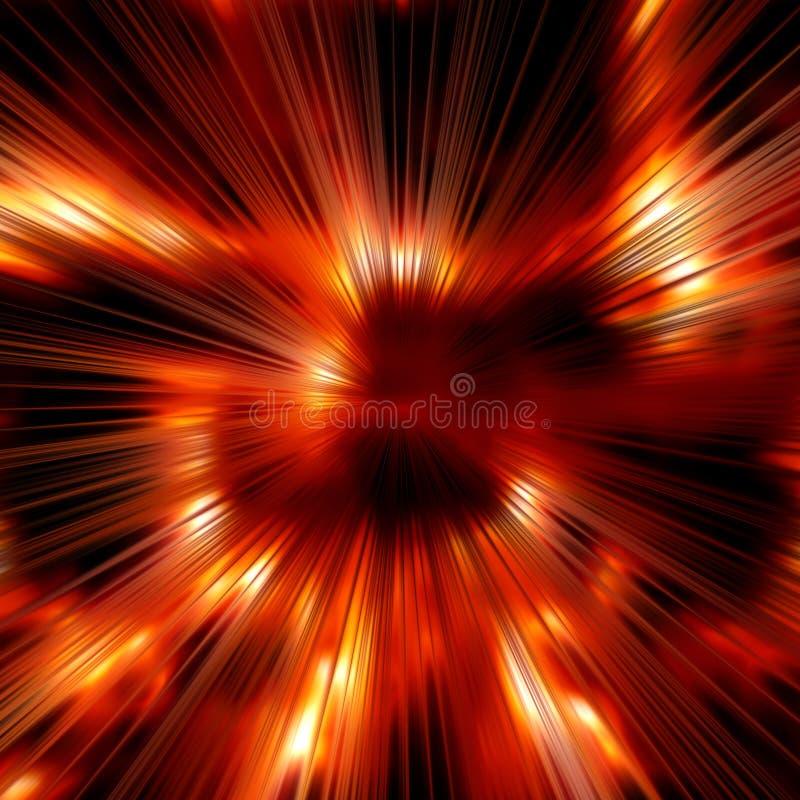 背景火热的光芒 库存图片