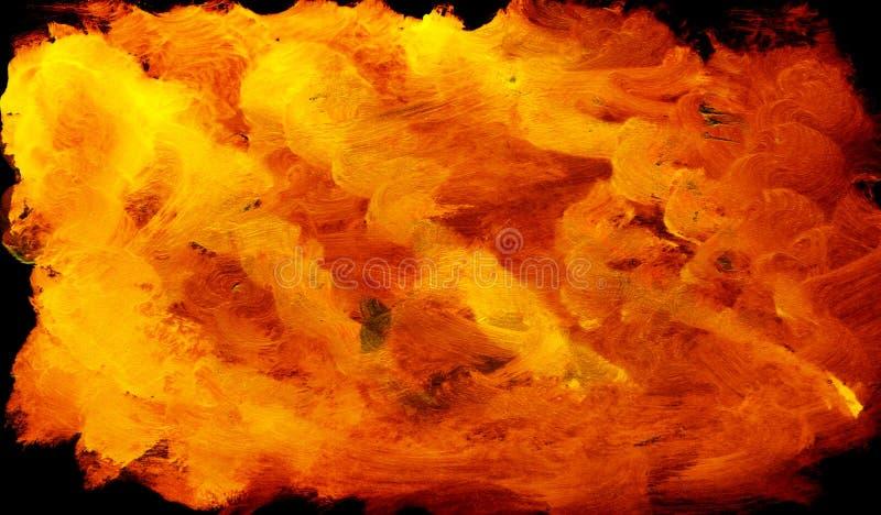 背景火 向量例证