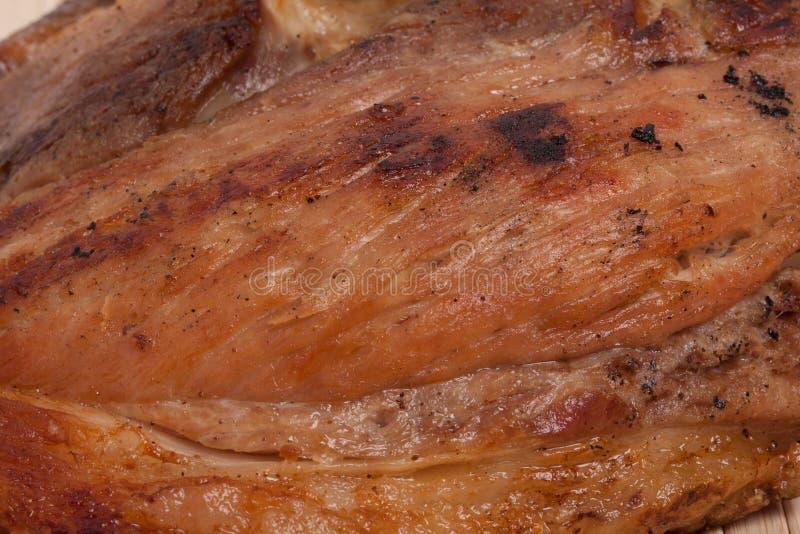 背景熟肉 库存照片