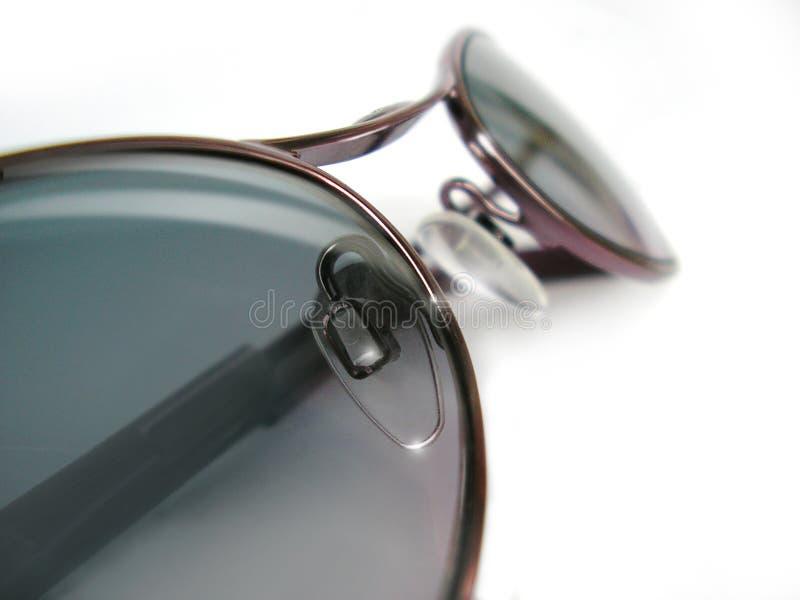 背景玻璃晒黑白色 免版税库存图片