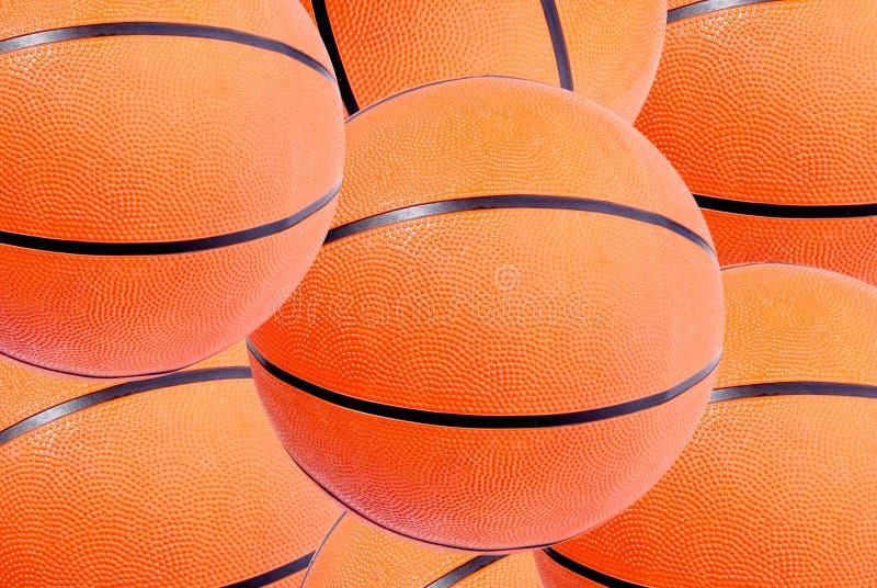 背景球篮子 免版税库存图片