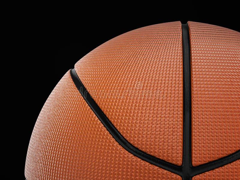 背景球篮球查出的白色 向量例证