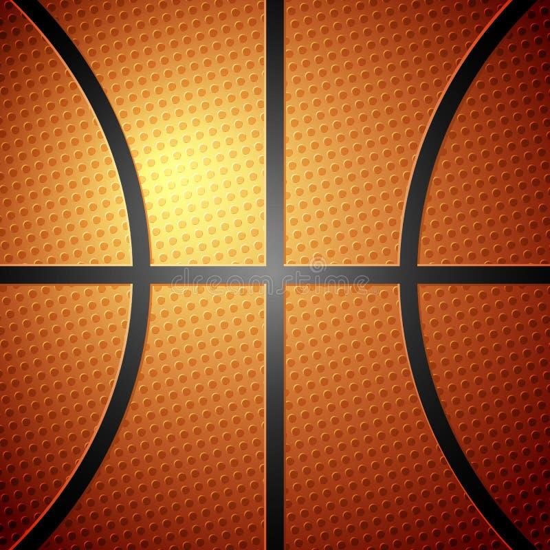 背景球篮球 库存例证