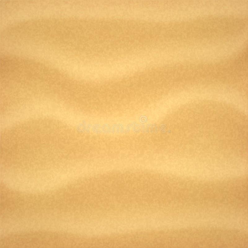 背景理想的沙子纹理 皇族释放例证