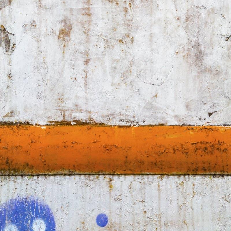 背景生锈色的grunge 免版税库存图片