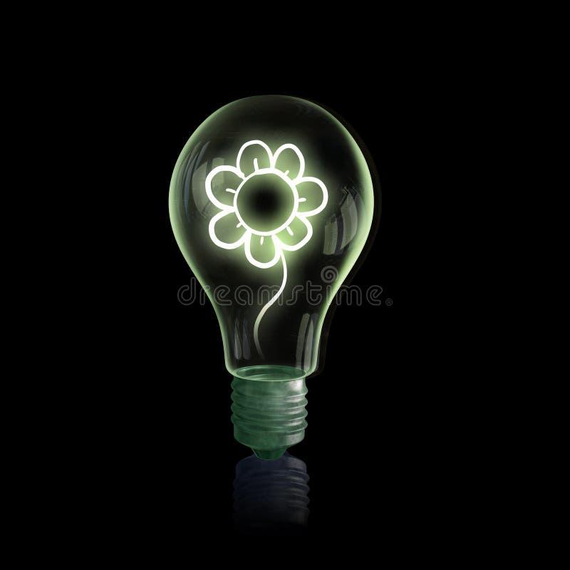 背景电灯泡玻璃图象查出的白色 库存照片