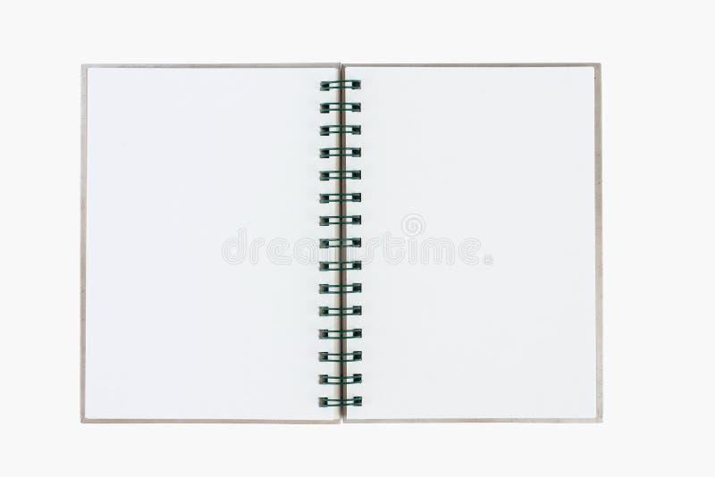 背景白纸螺旋 免版税库存照片