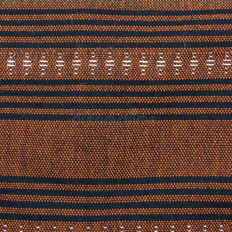 背景的传统泰国布裙样式 免版税图库摄影