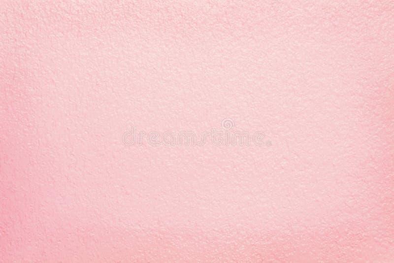 背景的桃红色水泥墙壁纹理 库存照片