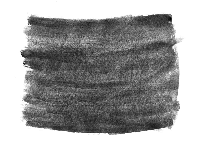 背景的水彩抽象手画织地不很细湿墨水斑点 向量例证