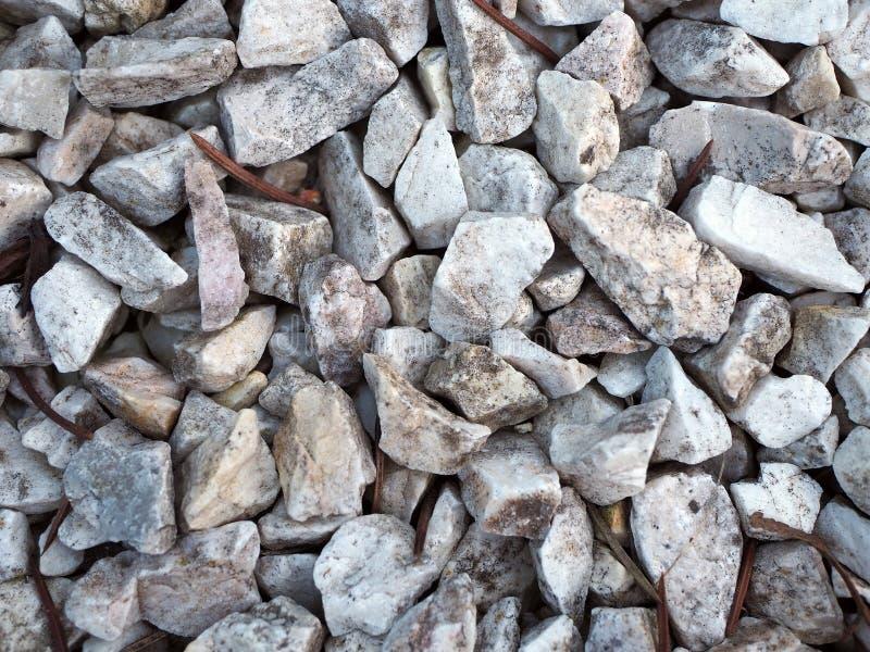 背景的灰色自然石头 库存照片