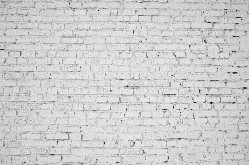 背景的照片 被绘的砖墙 免版税库存照片