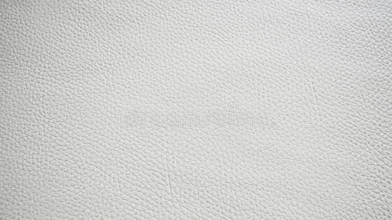 背景的白色人造皮纹理 免版税库存图片