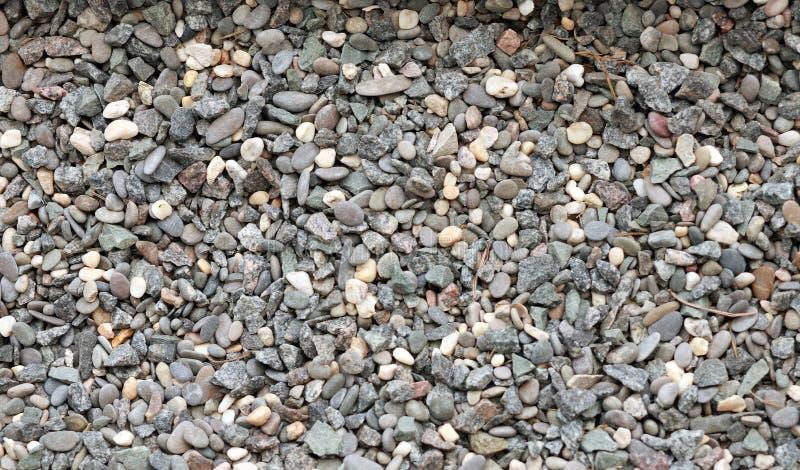 背景的石渣 库存图片