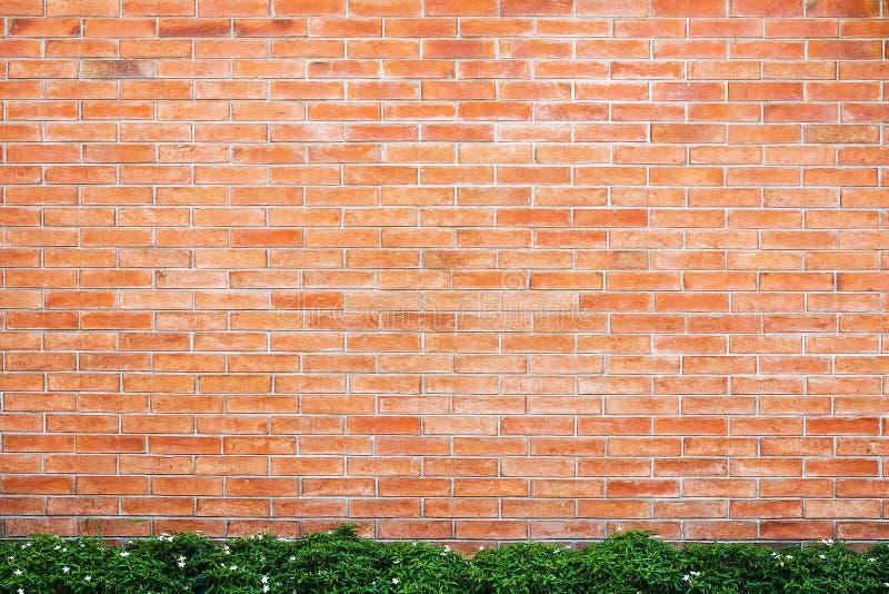 背景的红砖墙壁 库存图片