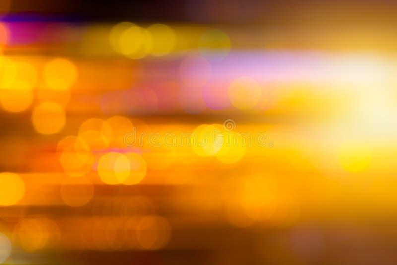 背景的美好的模糊的夜光摘要 库存照片