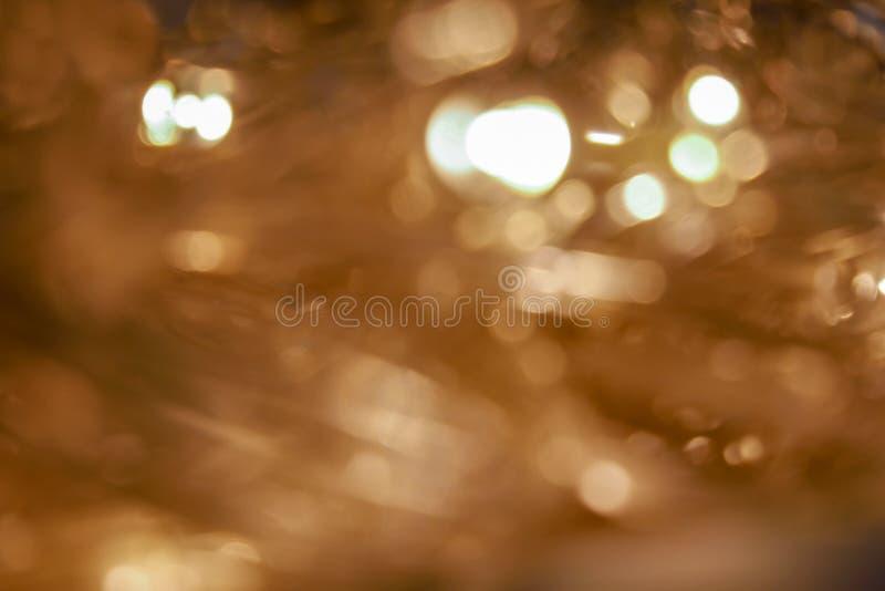 背景的迷离光点 免版税图库摄影