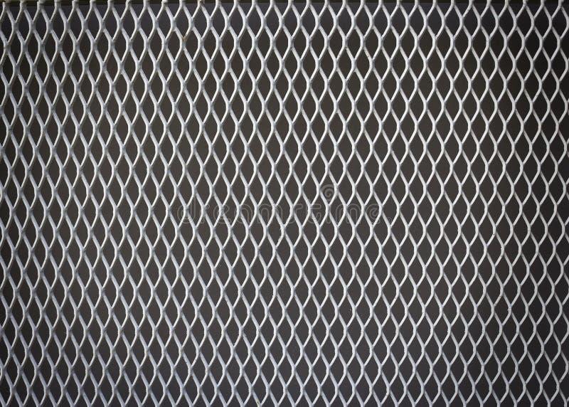 背景的钢净样式 免版税库存图片