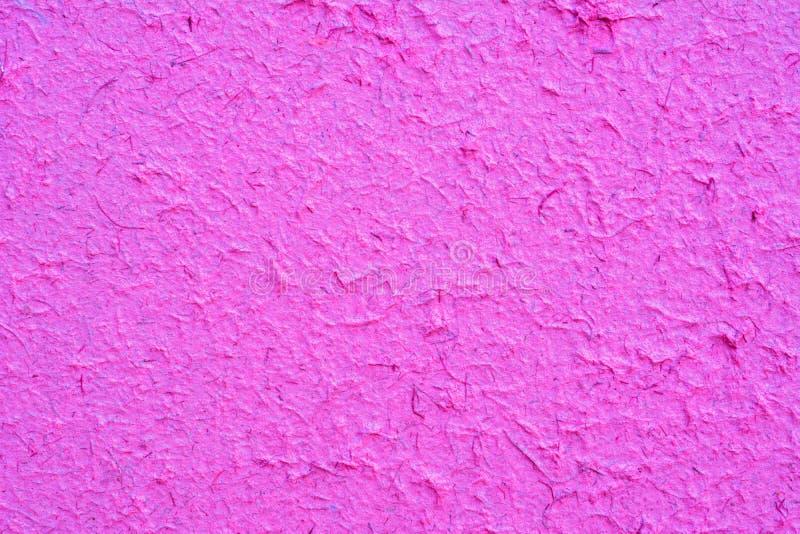 背景的紫色桑树纸纹理 免版税图库摄影