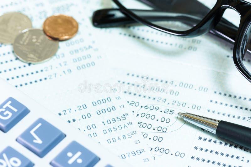 背景看板卡关闭赊帐财务视图 库存图片