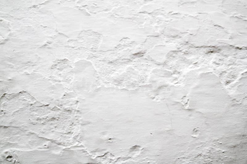 背景石灰被粉刷的纹理墙壁 免版税库存图片