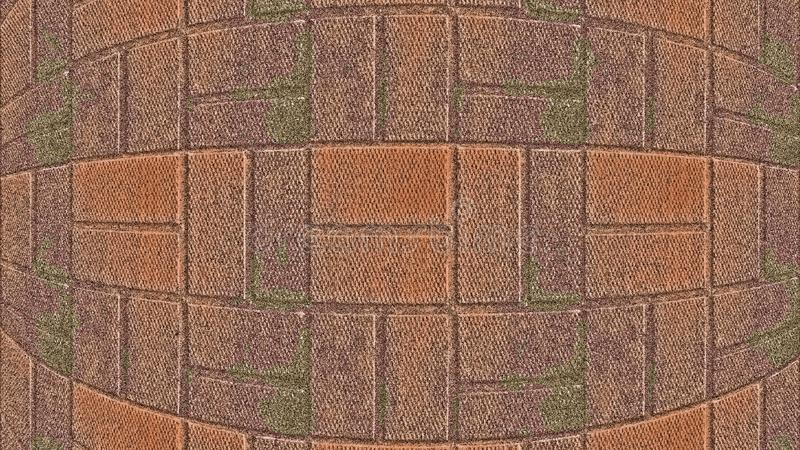 背景砖图象rastre墙壁 免版税库存照片