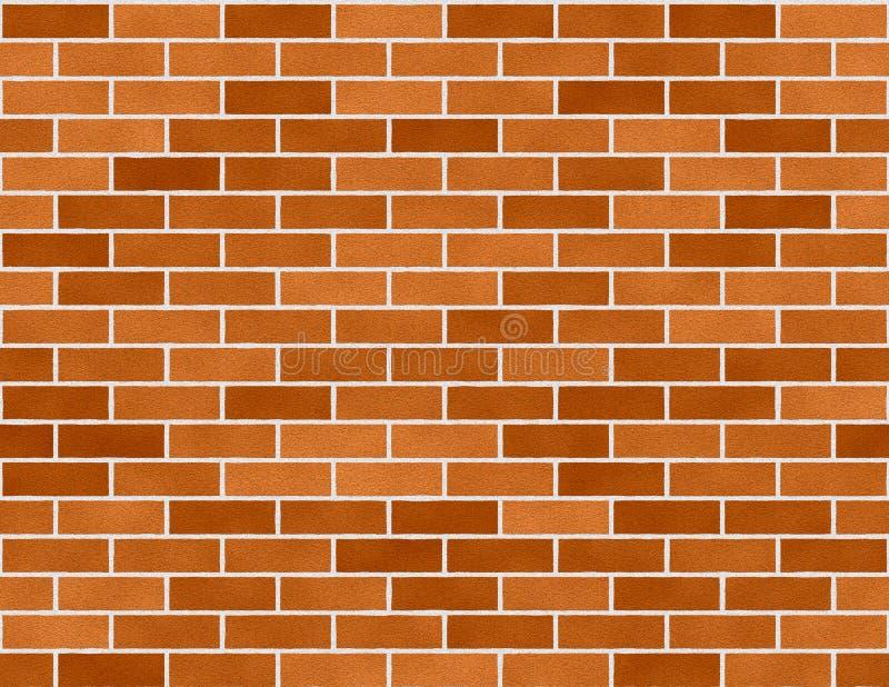背景砖砖无缝的小的墙壁 皇族释放例证