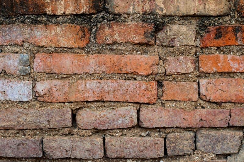 背景砖老墙壁 库存图片