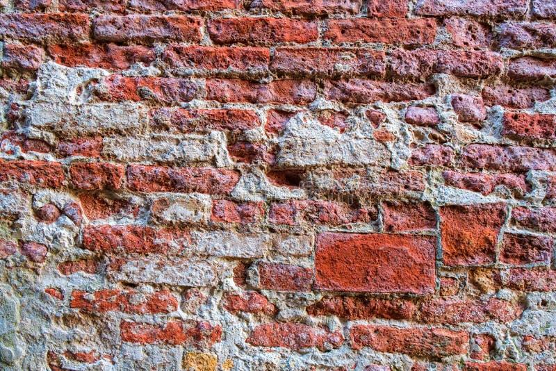 背景砖高老照片质量红色解决方法纹理墙壁 免版税图库摄影