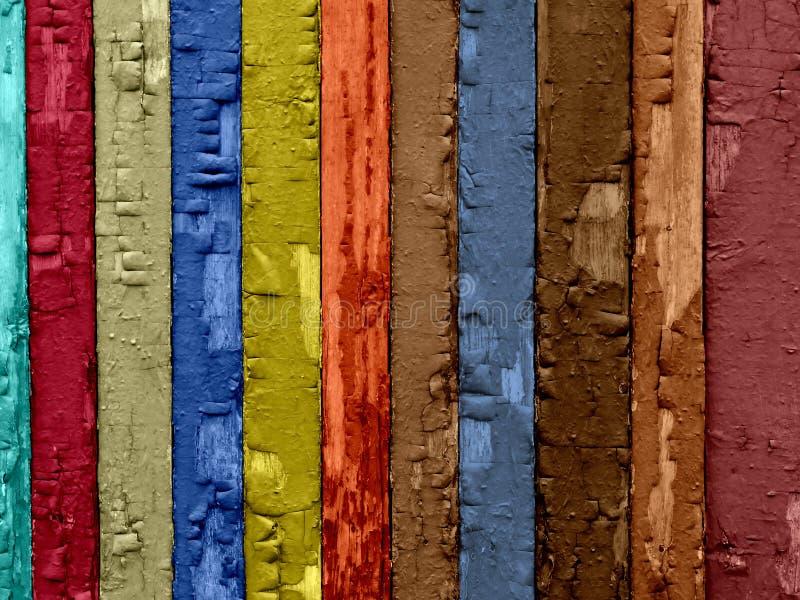 背景破裂的木头 免版税库存图片