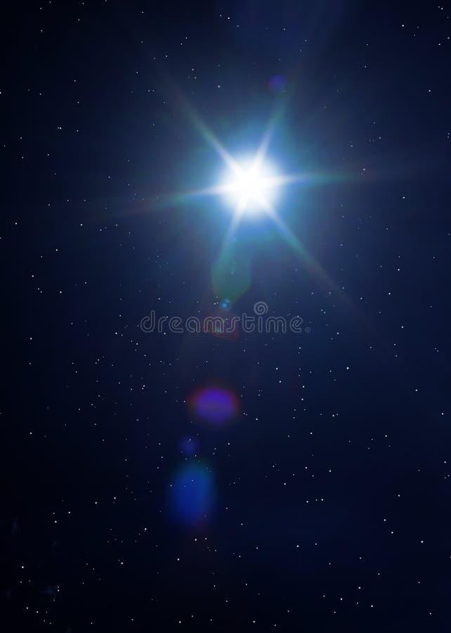 背景空间星形 免版税图库摄影