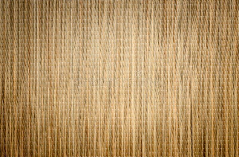 背景竹席子装饰图案 免版税库存图片