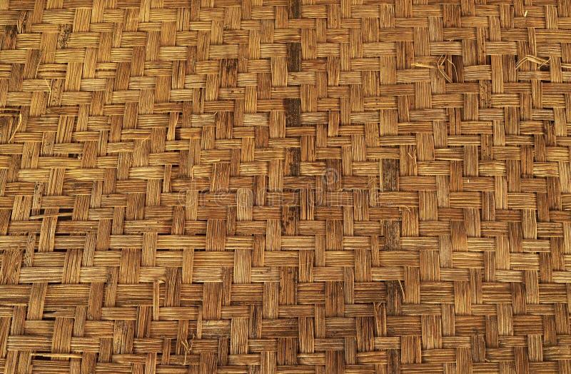 背景竹范围horisontal席子 免版税图库摄影