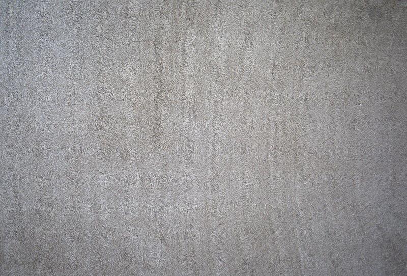 背景米黄微绒面革纹理 免版税库存图片