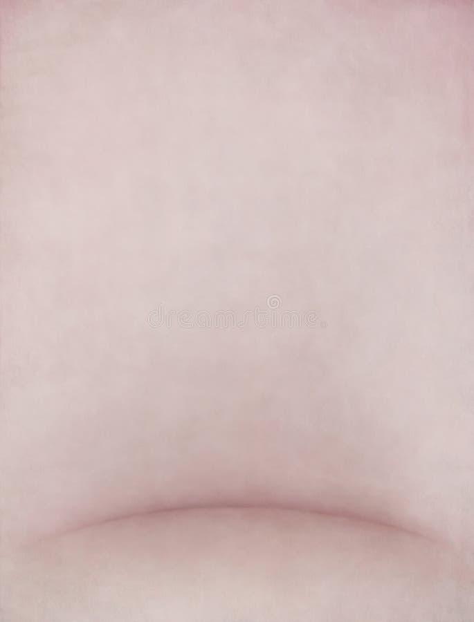 背景粉红彩笔纹理 库存例证