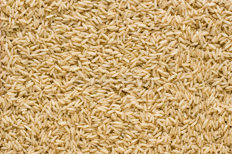背景糙米 免版税图库摄影