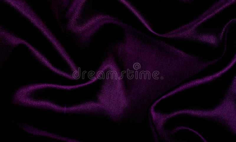 背景紫色缎 图库摄影