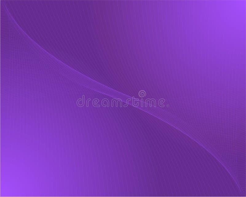 背景紫色 库存例证
