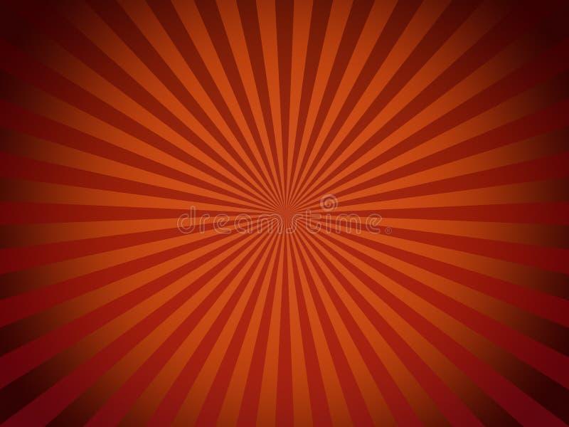 背景红色减速火箭 库存例证