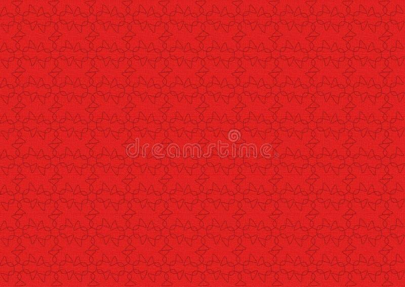 背景红色构造了 免版税图库摄影