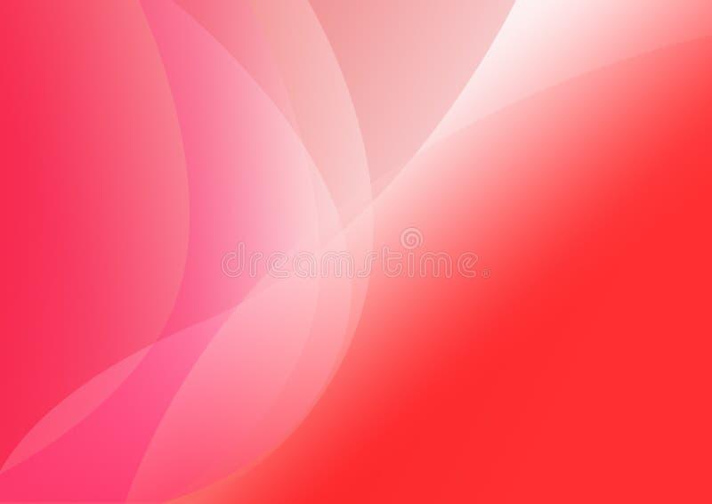 背景红色 向量例证