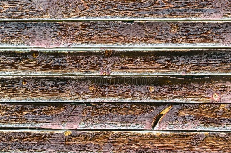 背景纹理土气木外墙板条在蒙大拿 库存图片