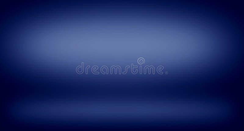 背景纹理的抽象深蓝梯度 图库摄影