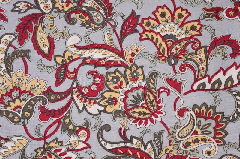 背景纹理织品花卉样式 库存例证