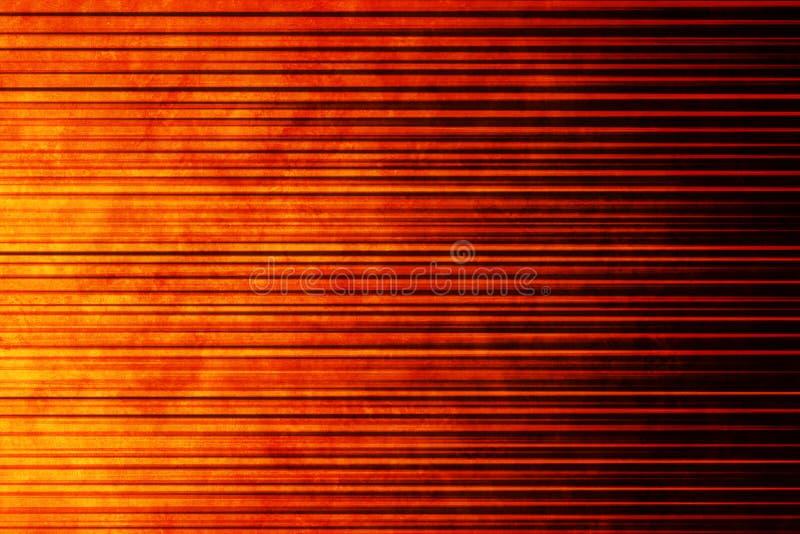 背景线性橙色温暖 免版税库存图片