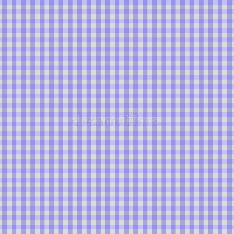 背景织品方格花布紫色 向量例证