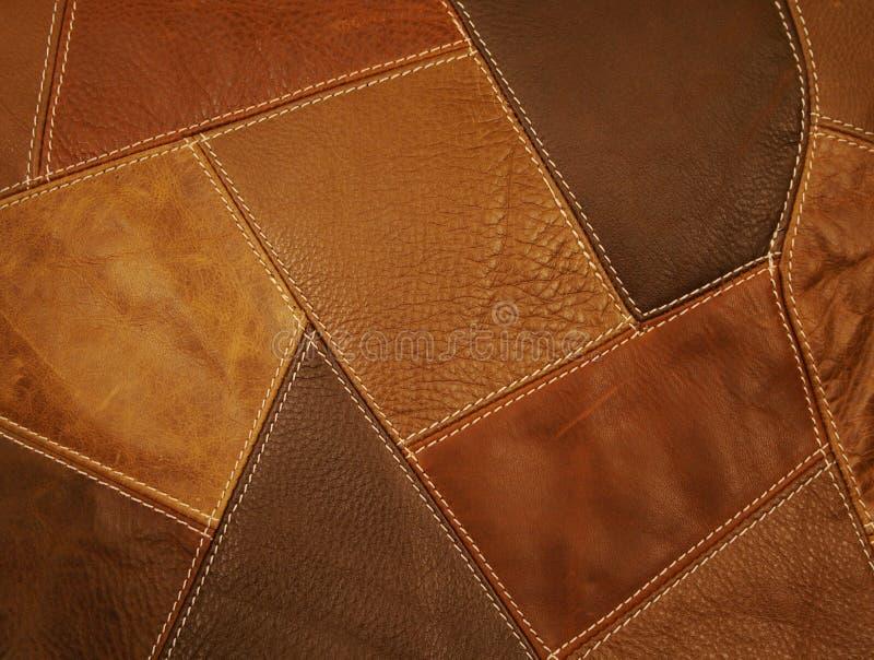 背景织品皮革补缀品 库存照片