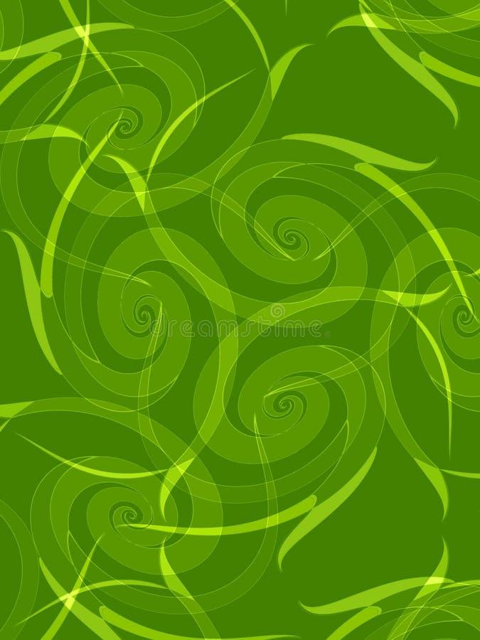 背景绿色叶子 向量例证