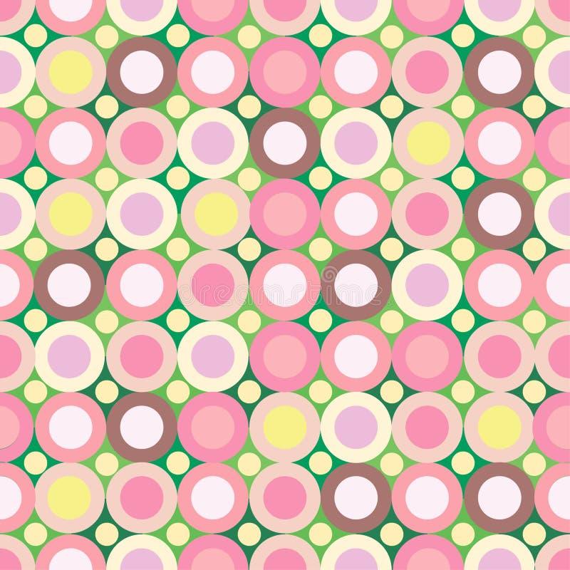 背景绿色桃红色无缝 免版税库存照片