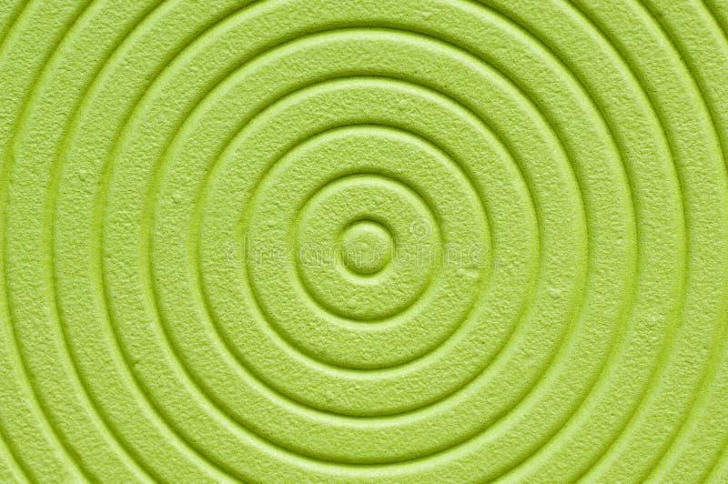 背景绿色螺旋 免版税库存照片